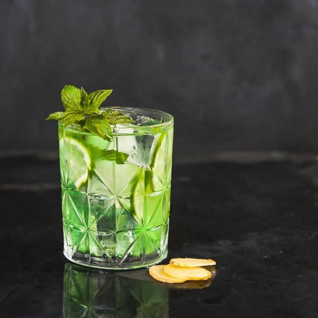 Rezept von Hildegard Möller: Ingwer-Tonic mit Limetten und Minze