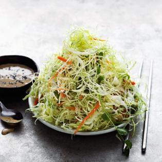 Rezept von Jonas Cramby: Kohlsalat japanisch