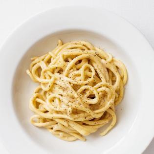 Rezept von Anna Pearson: Pici Cacio e pepe
