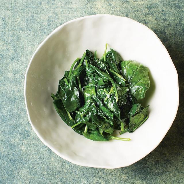 Rezept von Thomas Vilgis: Spinat, Spinat, Spinat
