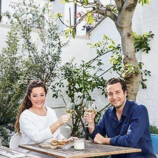 Kochbuchautoren Christina Mouratoglou & Adrien Carré