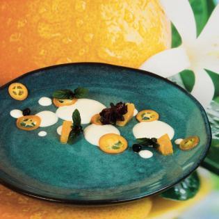 Rezept von Christina Scheffenacker: Gewürzorangen & Kumquats mit Mascarponecreme