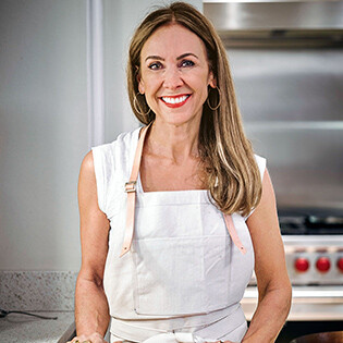 Kochbuchautorin Jennifer Joyce