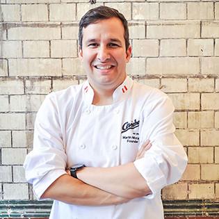 Kochbuchautor Martin Morales