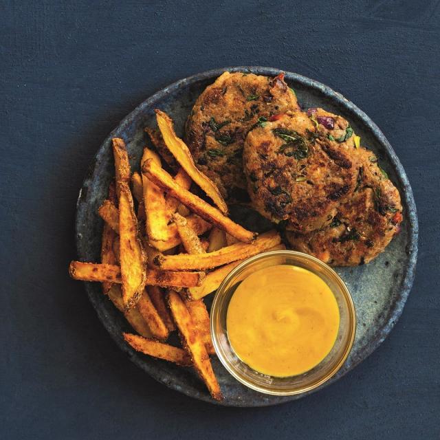 Rezept von Sophia Hoffmann: Brotlinge mit knusprigen Ofenpommes