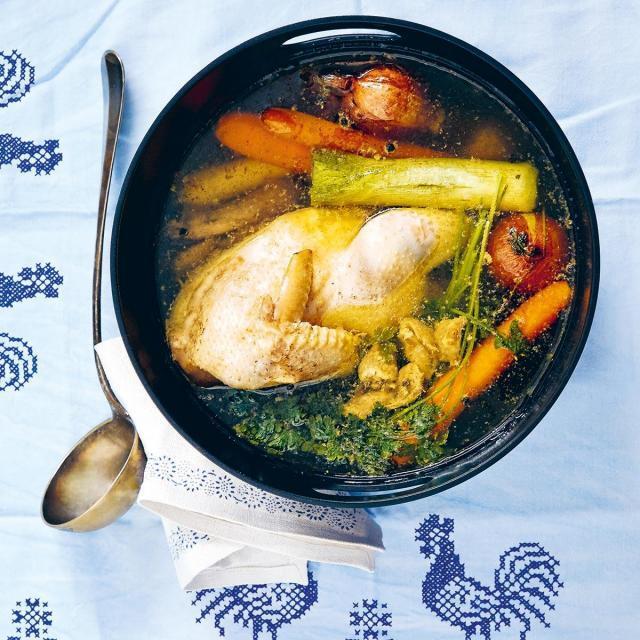 Rezept von Gabriele Halper & Irena Rosc: Klassische Hühnersuppe
