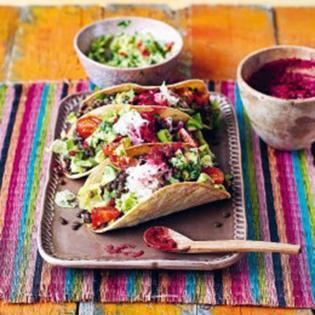 Rezept von Felipe Fuentes Cruz & Ben Fordham: Tacos mit pikanten Linsen
