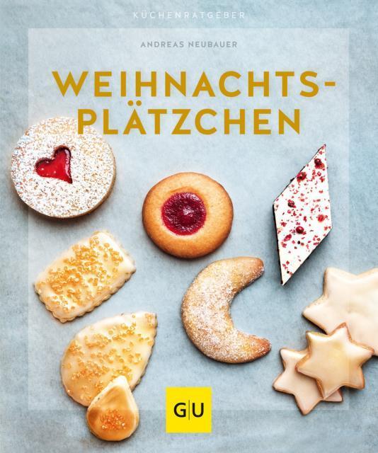 Backbuch von Andreas Neubauer: Weihnachtsplätzchen