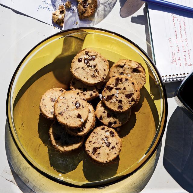 Rezept von Alison Roman: Butter-Schoko-Shortbread mit Salz