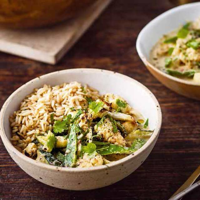 Rezept von Ella Mills: Grünes Thai-Curry
