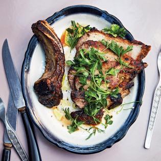 Rezept von Alison Roman: Schweinekoteletts mit Fenchel-Rub