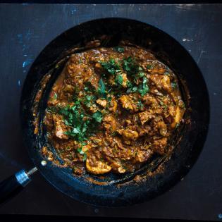 Rezept von Aqib aus Pakistan: Chicken Karahi