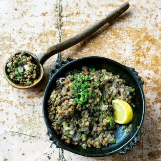 Rezept von Yohanis Gebreyesus: Linsen mit Senf