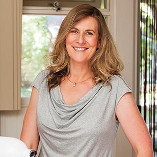 Kochbuchautorin Caroline Griffiths