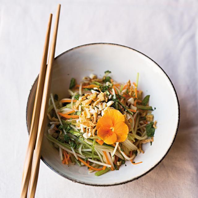 Rezept von Éva Bezzegh: Vietnamesischer Papayasalat