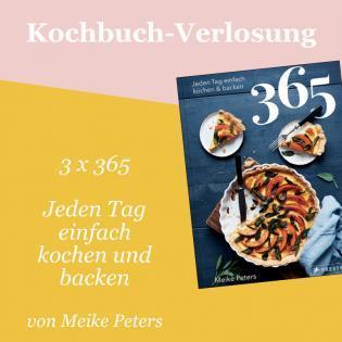 Kochbuch-Verlosung im Februar: 3 x 365 – Jeden Tag einfach kochen und backen
