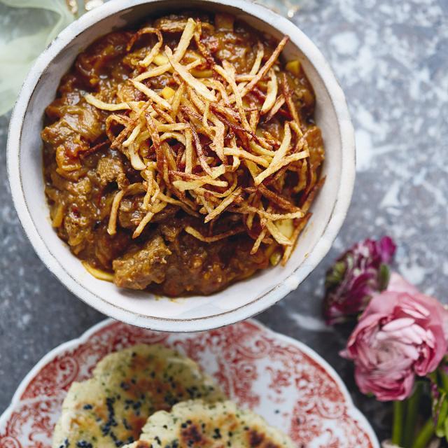 Rezept von Saliha Mahmood Ahmed: Lammcurry mit Aprikosen