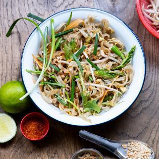 Rezept von Ben Kindler: Pad Thai – Gebratene Nudeln mit Gemüse