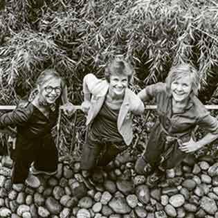 Kochbuchautorinnen Maurice K. Grünig, Tina Wagner-Lange und Judith-Gmür-Stalder