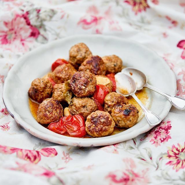 Rezept aus Brunos Gartenkochbuch: Brunos Fleischbällchen