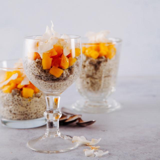 Rezept von James Porter: Chia-Mango-Bowl