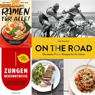 Kulinarische Literatur: Von der Küchengestaltung über Kochtricks bis zum Ramen-Comic