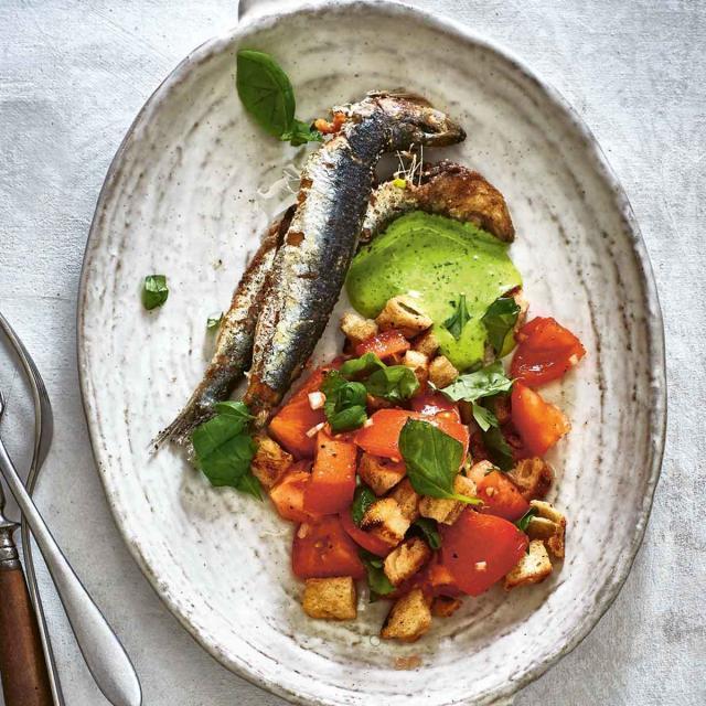 Rezept von Marianus von Hörsten: Sardelle / Tomate / Ciabatta