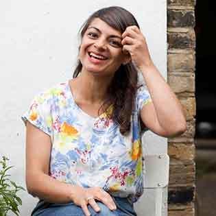 Kochbuchautorin Meera Sodha