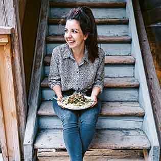 Kochbuchautorin Nicole Giger
