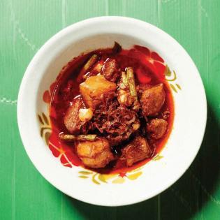 Rezept von Andy Ricker: Burmesisches Schweinebauch-Curry