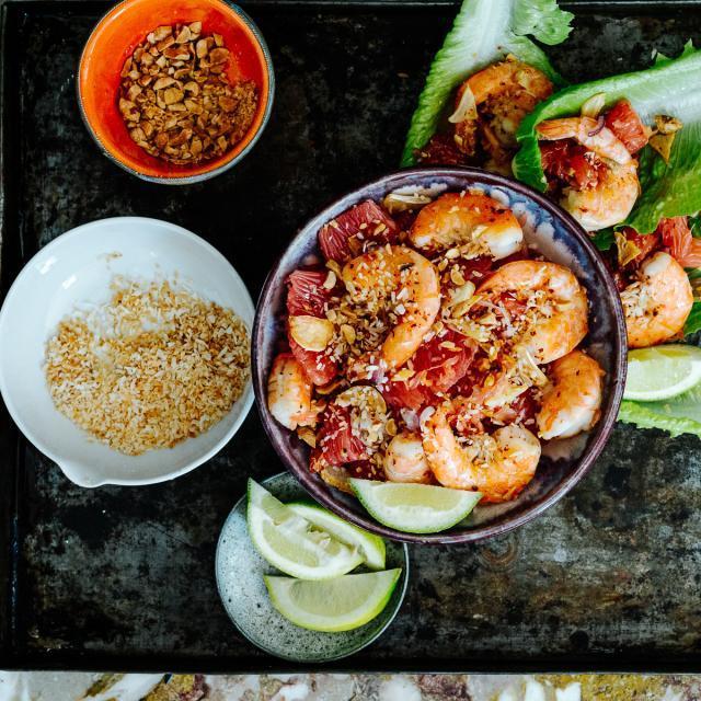 Rezept von Leela Punyaratabandhu: Pomelosalat