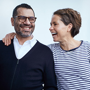 Kochbuchautoren Sami Tamimi & Tara Wigley