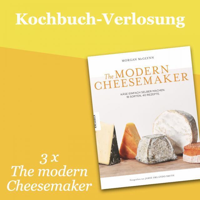 Kochbuch-Verlosung im Juli: 3 x The Modern Cheesemaker