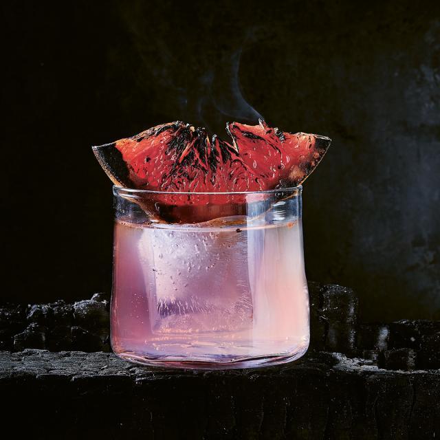 Rezept von Martin Nordin: Mezcal mit gegrillter Grapefruit