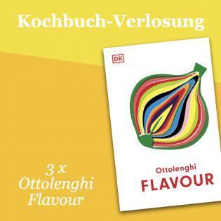 Kochbuch-Verlosung im September: 3 x Ottolenghi Flavour