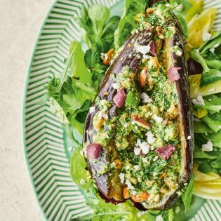 Rezept von Jamie Oliver: Allerbester Auberginensalat