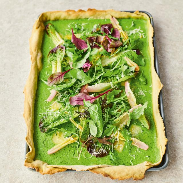 Rezept von Jamie Oliver: Avocado-Quiche