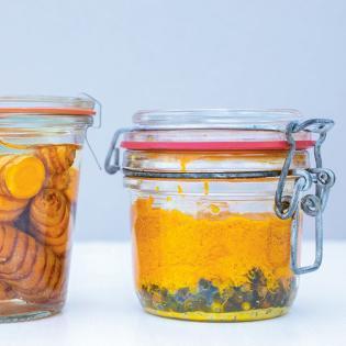 Rezept von Ingrid Palmetshofer: Kurkuma-Ingwer-Pfeffer-Würzpaste