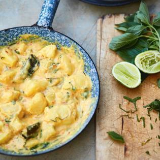 Rezept von Eleanor Ford: Kartoffelcurry