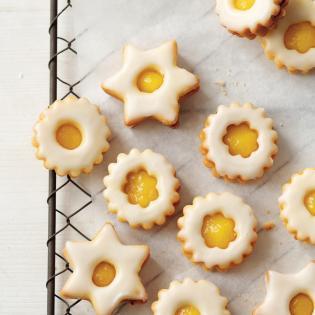 Rezept von Johanna Aust: Zitronensterne