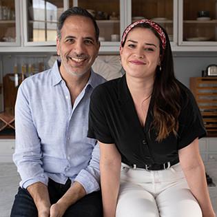 Kochbuchautoren Yotam Ottolenghi & Ixta Belfrage
