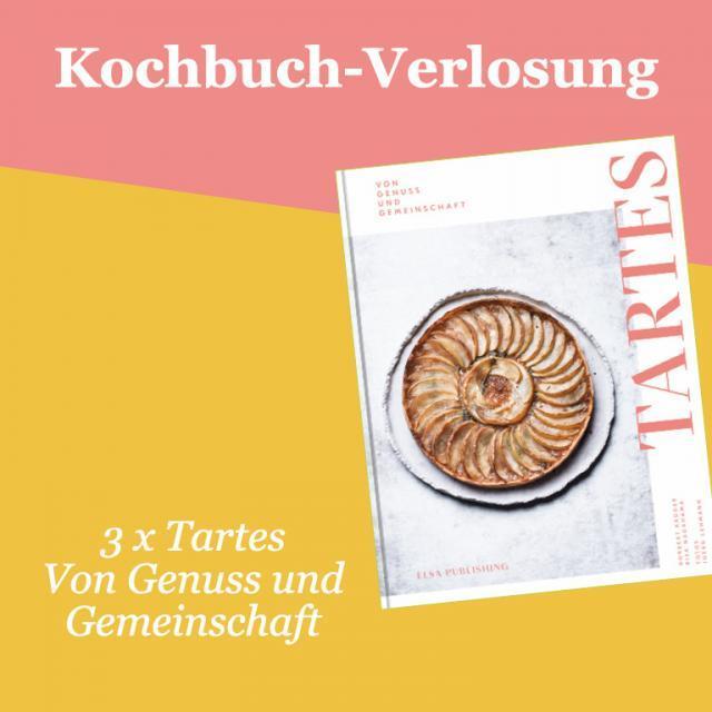 Kochbuch-Verlosung im Dezember: 3 x Tartes – Von Genuss und Gemeinschaft