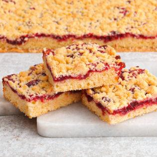 Rezept von Anna Walz: Marmeladen-Streuselkuchen