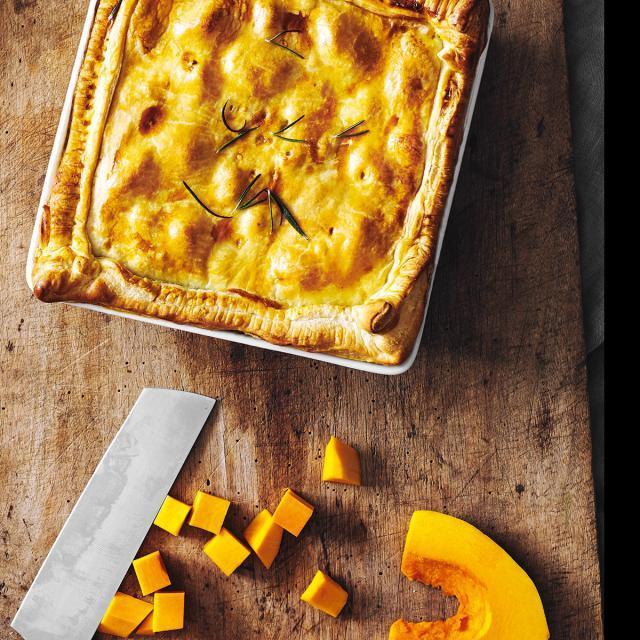 Rezept von Søren Staun Petersen: Pumpkin Pot Pie
