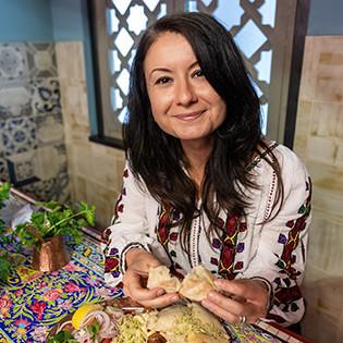 Kochbuchautorin Irina Georgescu