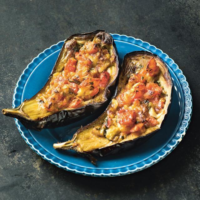 Rezept von Ofir Raul Graizer: Sheikh Mahshi – Auberginen mit Tomaten und Käse