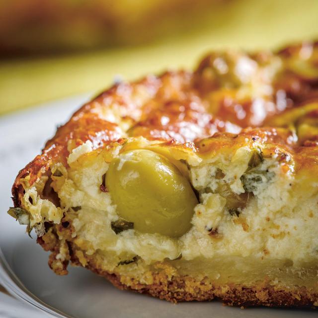 Rezept von Ofir Raul Graizer: Oliven-Käse-Tarte