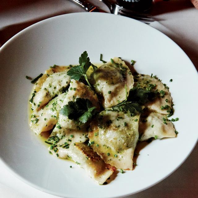 Rezept von Meredith Erickson: Mezzalune mit Spinat & Käse