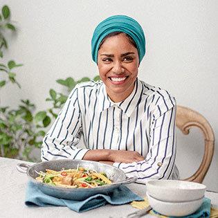 Kochbuchautorin Nadiya Hussain