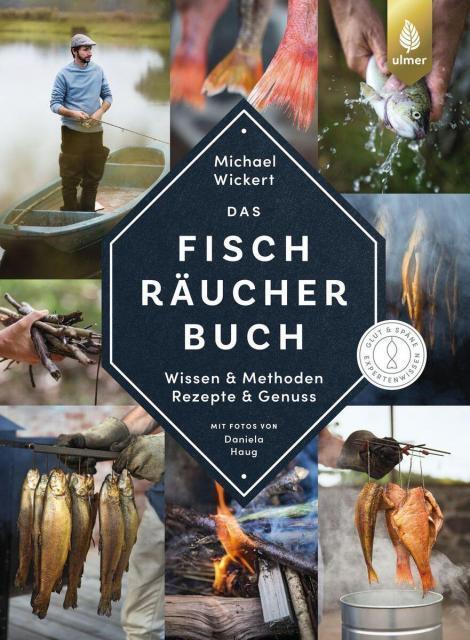 Kochbuch-Verlosung im Juli: 3 x Das Fischräucherbuch von Michael Wickert